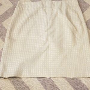 Jcrew dot skirt